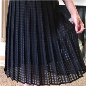 ELLE Floral Punch Pleated Hight Waisted Skirt